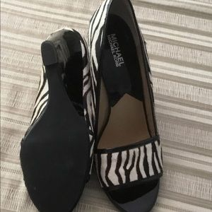 Michael Kors wedge shoes